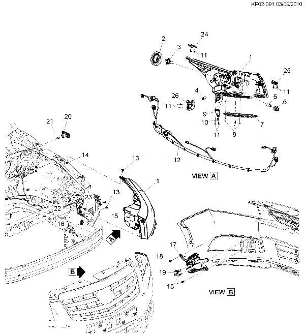 каталог запчастей шевроле круз с картинками