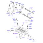 Направляющая цепи ГРМ правая Hyundai i40 (2012-н.в.)