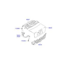 Крышка багажника Hyundai Accent (2001-2006)