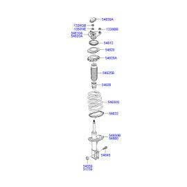 Подшипник опоры амортизатора переднего Hyundai i30 I (2007-2012)