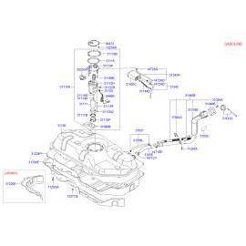 Фильтр топливный Hyundai Getz (2002-2011)