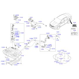 Насос топливный в сборе Hyundai i40 (2012-н.в.)