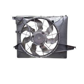 Вентилятор радиатора охлаждения в сборе Hyundai Santa Fe 3 (2012-н.в.)
