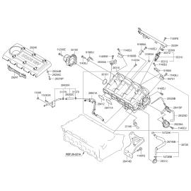 Прокладка впускного коллектора KIA Sportage 3 МКПП (2011-2015)