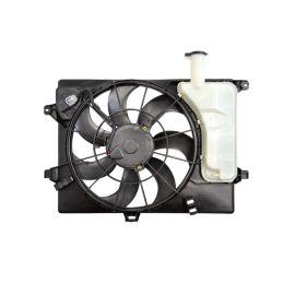 Вентилятор радиатора охлаждения в сборе с расширительным бачком KIA Ceed 2 (2012-н.в.)